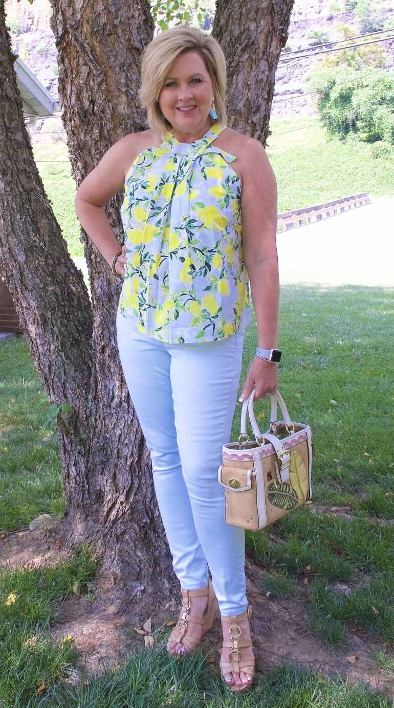 50 IS NOT OLD | WHEN LIFE GIVES YOU LEMONS | FASHION OVER 40