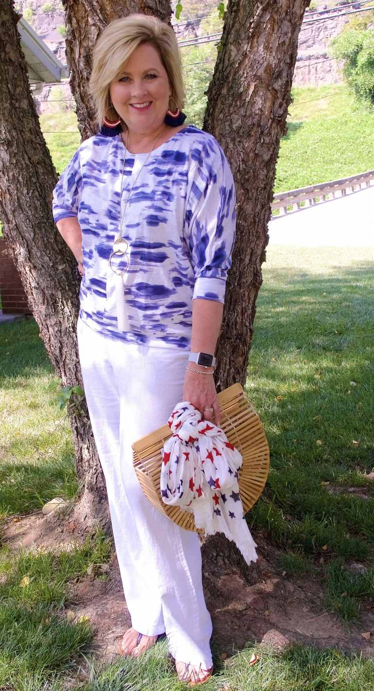 50 IS NOT OLD | A CASUAL 4TH OF JULY | FASHION OVER 40