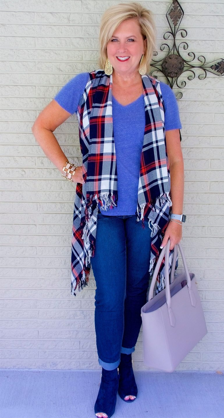 72fc5d1801e HOW TO WEAR PLAID BUT NOT LOOK LIKE A LUMBERJACK – 50 IS NOT OLD