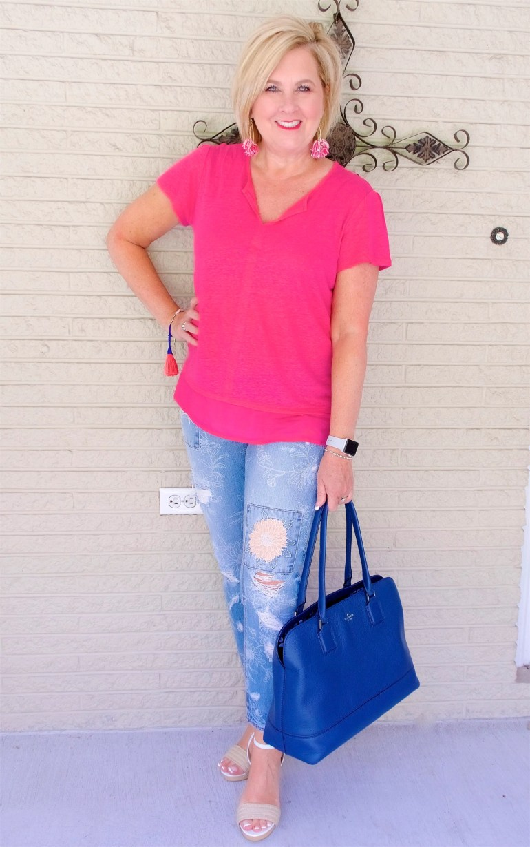 50 IS NOT OLD   WHAT TO WEAR ON LABOR DAY   FASHION OVER 40