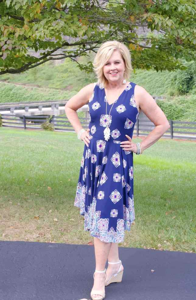 50 IS NOT OLD | IS A HANDKERCHIEF HEM FLATTERING | FASHION OVER 40