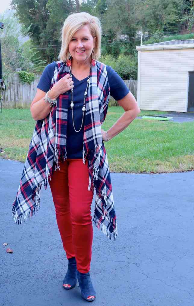 50 IS NOT OLD | MAD FOR PLAID | FASHION OVER 40