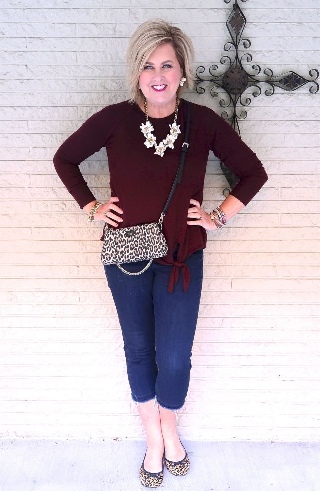 50 IS NOT OLD | WHY WOULD YOU CARRY A CROSSBODY PURSE | FASHION OVER 40