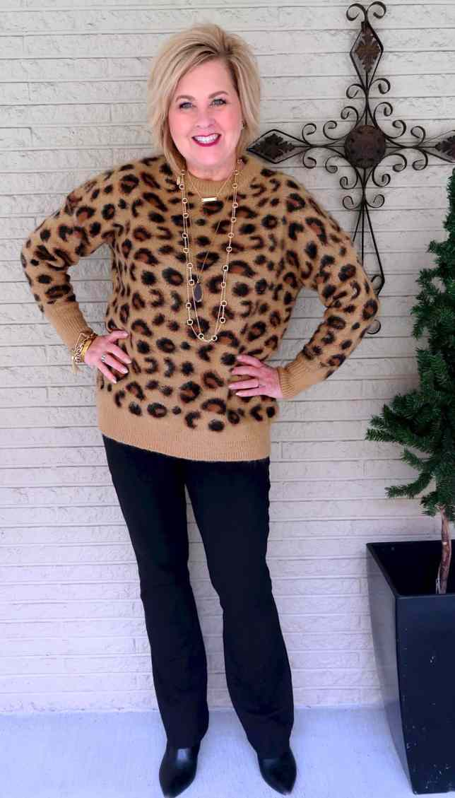 50 IS NOT OLD | CAN YOU HAVE TOO MUCH LEOPARD | FASHION OVER 40