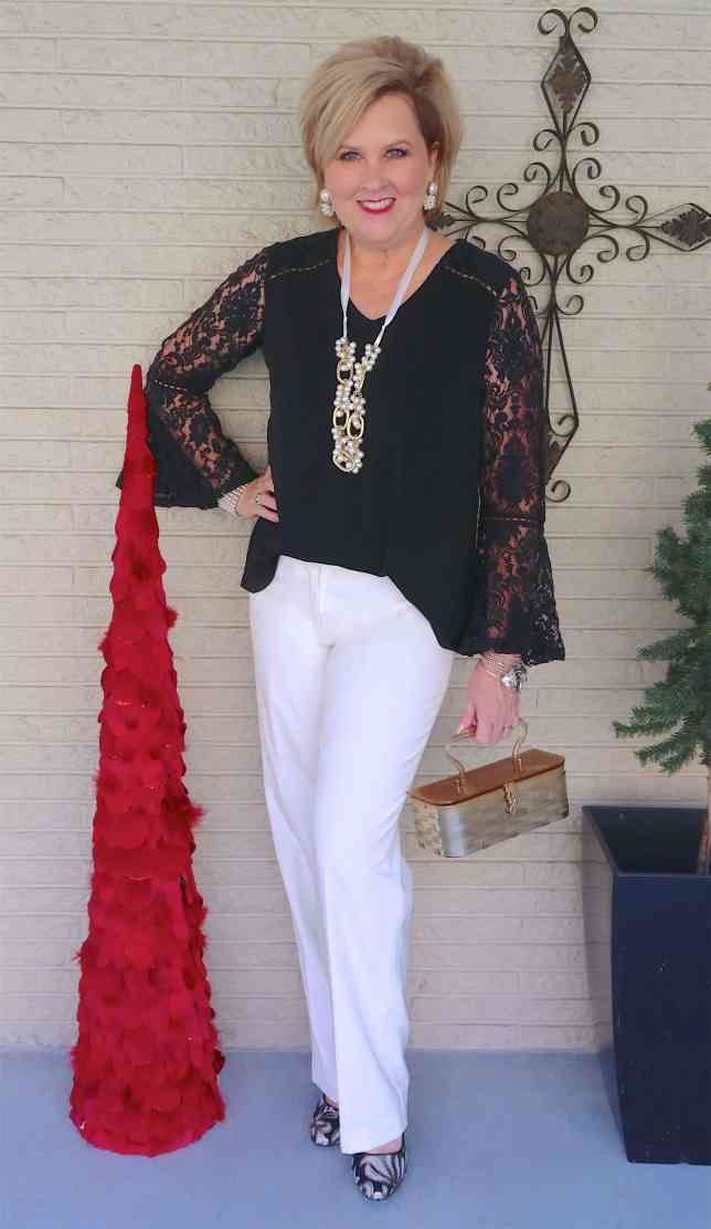 50 IS NOT OLD | A HOLIDAY STYLE THAT IS AFFORDABLE | FASHION OVER 40