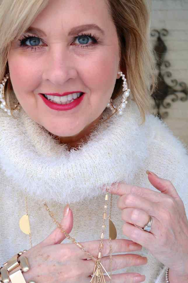 50 IS NOT OLD | JEANS FOR THE HOLIDAYS | FASHION OVER 40