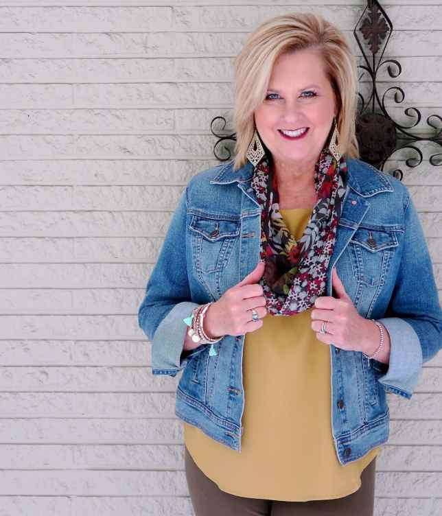 50 IS NOT OLD | DO YOU NEED A DENIM JACKET | FASHION OVER 40