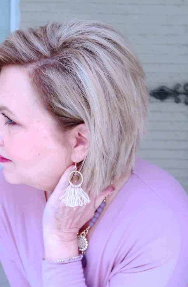 50 IS NOT OLD | A FAUX WRAP IS A FLATTERING STYLE | FASHION OVER 40