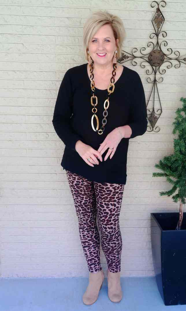 50 IS NOT OLD   IS LEOPARD PRINT STILL IN STYLE   FASHION OVER 40