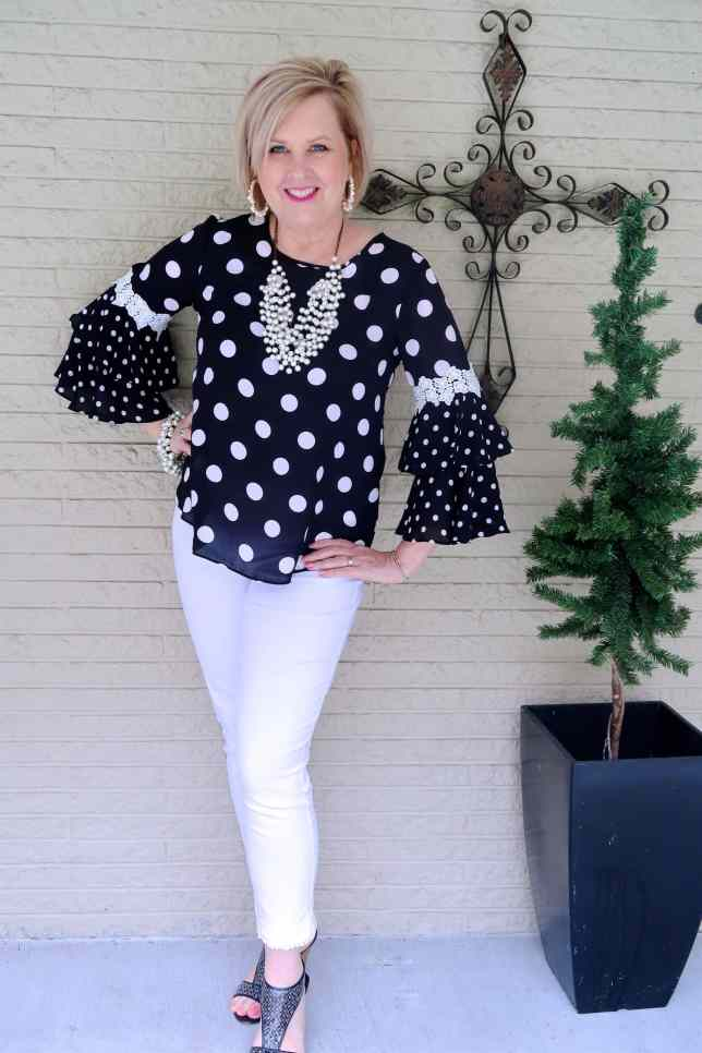50 IS NOT OLD | A PLAYFUL AND FUN PATTERN | FASHION OVER 40