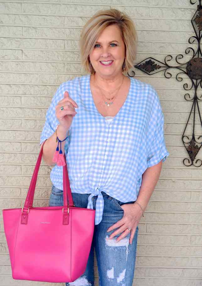 50 IS NOT OLD | DO I NEED A PINK HANDBAG | FASHION OVER 40
