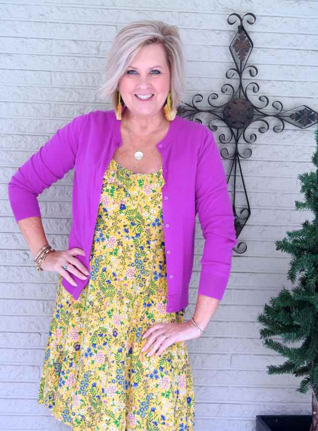 50 IS NOT OLD | WHAT TO WEAR FOR EASTER | FASHION OVER 40