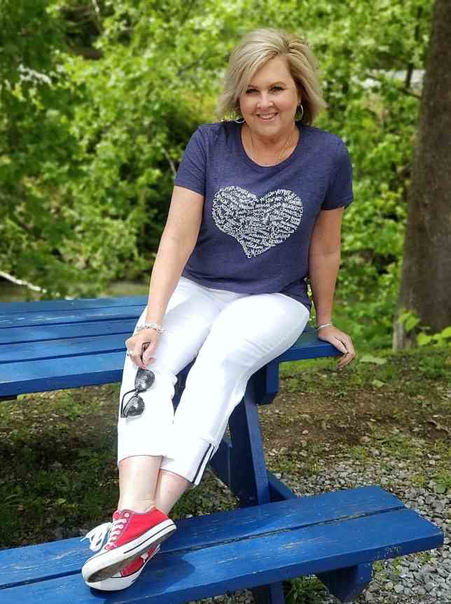 50 IS NOT OLD | CASUAL MEMORIAL DAY STYLE | FASHION OVER 40