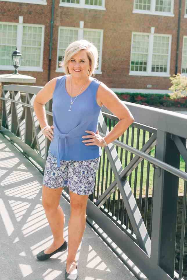 50 IS NOT OLD | WEARING SHORTS OVER 40 | FASHION OVER 40