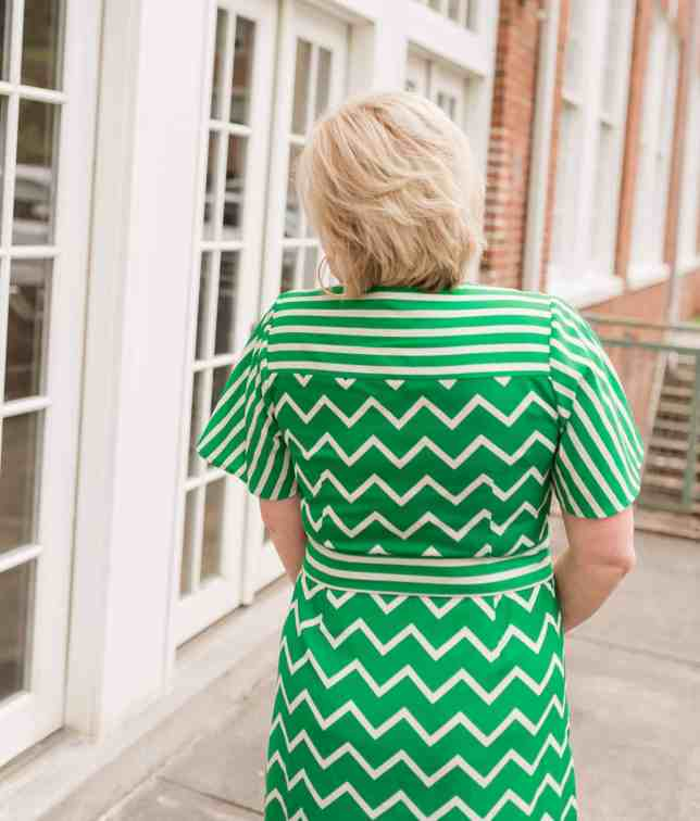 50 IS NOT OLD | ONE OF THE MOST FLATTERING STYLE OF DRESSES | STYLE OVER 40