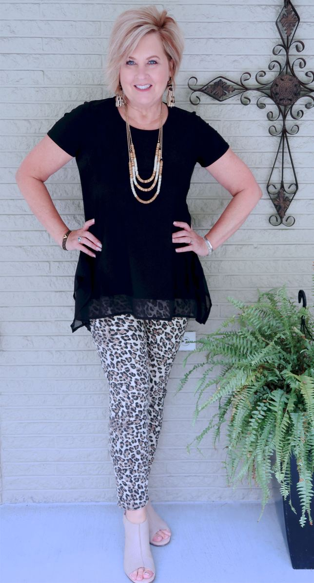 50 IS NOT OLD | CHEETAH PRINT JEANS | FASHION OVER 40