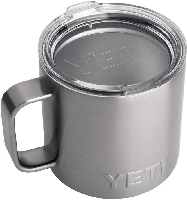 YETI tumbler with handle