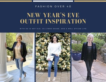 NEW YEAR'S EVE OUTFIT BY THREE BLOGGERS