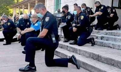 US Police Hearts Melt As Police Men Pleads Over Death Of George Floyd - FB IMG 1590953186950 - Hearts Melt As Police Men Pleads Over Death Of George Floyd