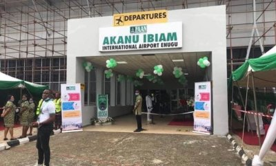 The Uncompleted Enugu airport that was commissioned photos - IMG 20200831 074954 - Photos: Nigerian Government Commissioned uncompleted Airport after a year closure