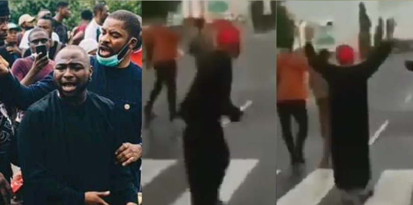Hilarious Moment Davido tried to flee as police officers threatened to shoot hilarious moment davido tried to flee as police officers threatened to shoot Hilarious Moment Davido tried to flee as police officers threatened to shoot 20201012 102416 1602494819846