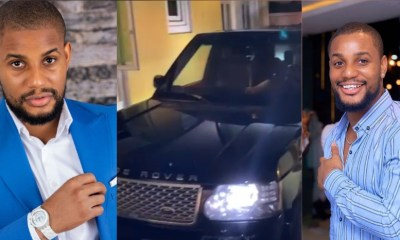 """""""It's better to give than to receive""""- Actor Alex Ekubo says as he celebrates his good friend who gifted him a Range Rover """"it's better to give than to receive""""- actor alex ekubo says as he celebrates his good friend who gifted him a range rover - 20201012 105146 1602496371467 - """"It's better to give than to receive""""- Actor Alex Ekubo says as he celebrates his good friend who gifted him a Range Rover"""
