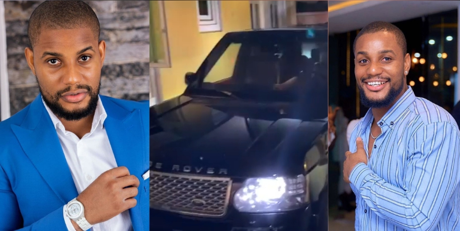 """it's better to give than to receive""- actor alex ekubo says as he celebrates his good friend who gifted him a range rover ""It's better to give than to receive""- Actor Alex Ekubo says as he celebrates his good friend who gifted him a Range Rover 20201012 105146 1602496371467"