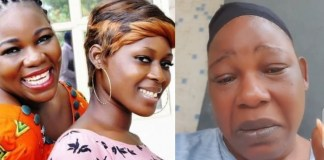Actress Ada Ameh begs Buhari to allow her bury her daughter, threatens to walk naked