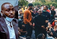 """It is painful that what started as a peaceful protest has been hijacked and turned into complete Anarchy""- Davido laments"