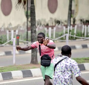 thugs thugs Face of Thugs leader That came to Dispel Peaceful Protesters At Alausa EkXi1NyXcAIQh9s 300x287 thugs Face of Thugs leader That came to Dispel Peaceful Protesters At Alausa EkXi1NyXcAIQh9s
