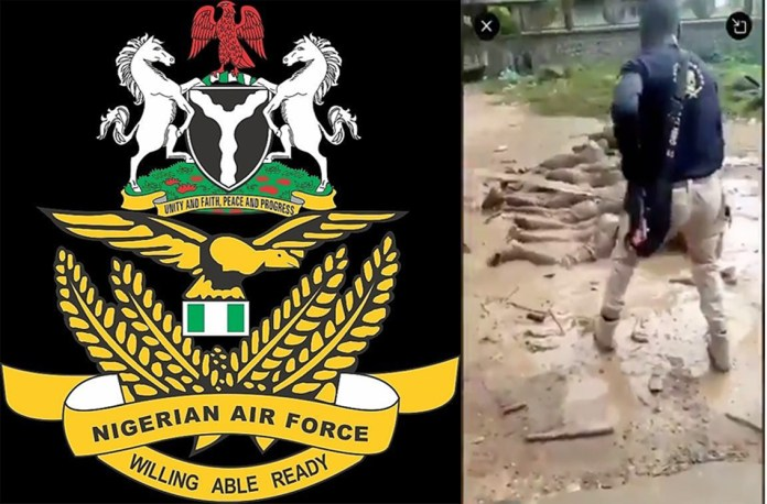 Nigeria Airforce Arrest Officers Who Flogged Curfew Defaulters in Ilehsa nigeria airforce - nigeria airforce - Nigeria Airforce Arrest Personnel Who Flogged Curfew Defaulters in Ilehsa