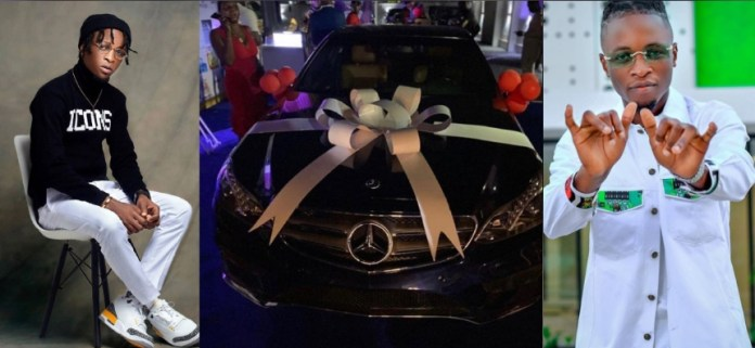 BBNaija Star Laycon gets Mercedes Benz as a birthday gift from fans bbnaija star laycon gets mercedes benz as a birthday gift from fans - 20201109 064312 1604900665965 - BBNaija Star Laycon gets Mercedes Benz as a birthday gift from fans