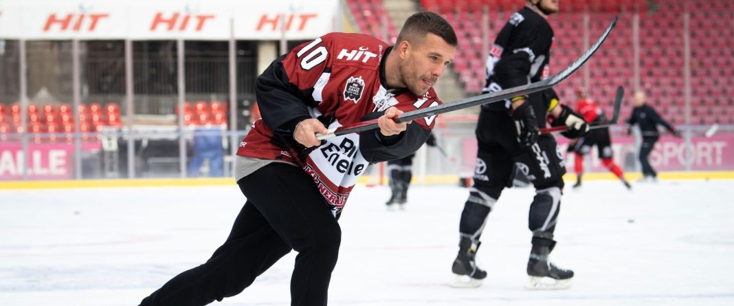 Lukas podolski sets to play for German's cologne haie sports - 20201118 205907 scaled - Sports: Former Arsenal attacker sets to play for German's cricket side