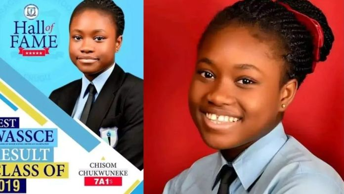 auto draft - Chisom girl - Heartbreaking: 17-year-old Girl Who Got A1 In All Subjects In WAEC Is Dead (Photo)