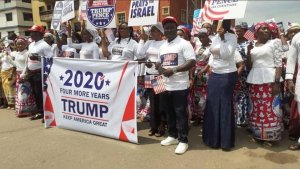 Nigerians March to support Trump america decides - IMG 20201103 191107 300x169 - America Decides: Donald Trump reacts to Nigerians march to support his bid america decides - IMG 20201103 191107 - America Decides: Donald Trump reacts to Nigerians march to support his bid