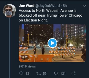 possible civil unrest imminent as police barricades trump tower - IMG 20201104 053133 760 300x262 - Possible civil unrest imminent as Police barricades Trump tower possible civil unrest imminent as police barricades trump tower - IMG 20201104 053133 760 - Possible civil unrest imminent as Police barricades Trump tower