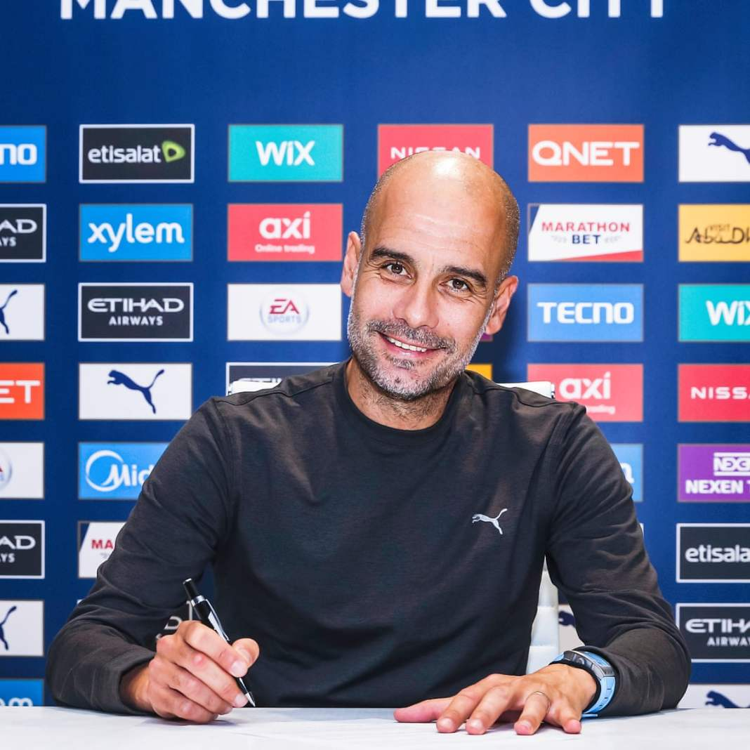 pep guardiola pep guardiola - pep - Pep Guardiola Signs a New Two-year Contract With Manchester City