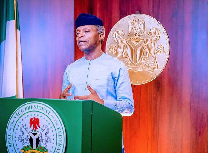 We'll tackle insecurity using intelligence gathering and community policing insecurity - 20201202 160438 - Insecurity: We'll focus more on local intelligence, community policing -Osinbajo
