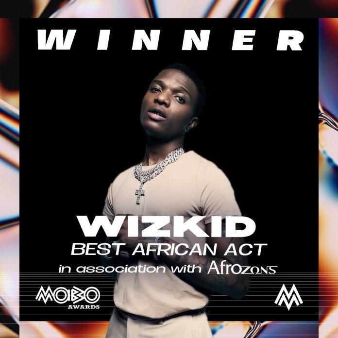 Wizkid Breaks Record After Winning The Best African Act In Mobo Awards wizkid - IMG 20201209 211108 - Mobo Awards 2020: Wizkid Breaks Record After Winning The Best African Act