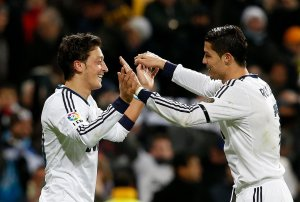Mesut Ozil and Cristiano Ronaldo during their time together at Real Madrid football debate - 20210112 061505 300x202 - Football Debate: Ronaldo is the best wherever he has played -Ozil football debate - 20210112 061505 - Football Debate: Ronaldo is the best wherever he has played -Ozil