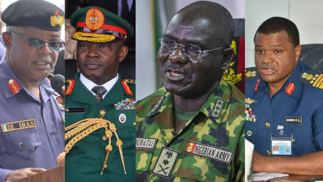 Buhari appoint new service chiefs breaking: buhari accepts resignation of service chiefs, appoints replacements - 20210126 154422 - Breaking: Buhari accepts resignation of Service Chiefs, Appoints Replacement