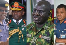 Buhari appoint new service chiefs