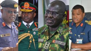 Buhari appoint new service chiefs  breaking: buhari accepts resignation of service chiefs, appoints replacements - 20210126 154422 300x169 - Breaking: Buhari accepts resignation of Service Chiefs, Appoints Replacement breaking: buhari accepts resignation of service chiefs, appoints replacements - 20210126 154422 - Breaking: Buhari accepts resignation of Service Chiefs, Appoints Replacement