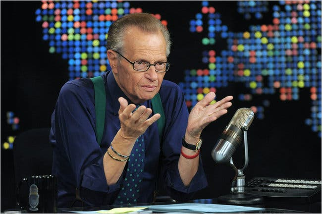 Larry King TV Veteran; What He Would be Remembered for larry king - 30king 337 395 popup - Larry King TV Veteran; What He Would be Remembered for