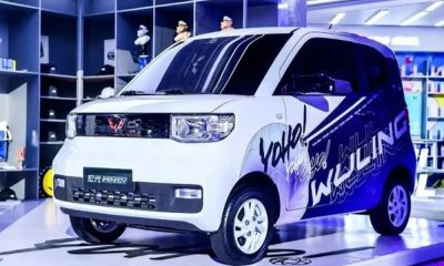 Elon Musk Tesla Face Strong Competition In China As Company Unveil Cheaper Electric Car elon musk - GM Wuling EV MAIN - Elon Musk Tesla Face Strong Competition In China As Chinese Company Unveil Cheaper Electric Car