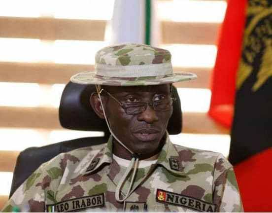 service chiefs - Major General Lucky Leo Irabor A soldier that stays alert fit and battle ready - New Service Chiefs take office As President Muhammadu Buhari Sack Military Chiefs