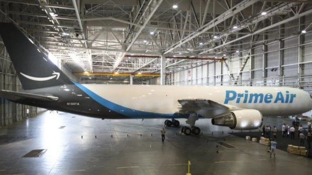 Amazon Air - previously called Prime Air - has leased planes since 2016. Photo: Courtesy Amazon amazon - Screenshot 2021 01 11 184901 - Amazon buys its planes unexpectedly