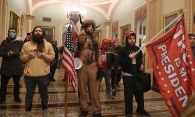 protest - gettyimages 1230453313 612x612 1 - Tension Grips Washington As Trump Supporters Plan Armed Protest