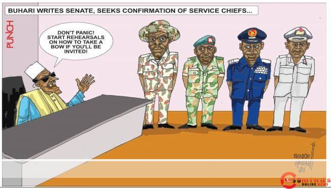 - 20210202 213358 - This Cartoon Silently Describes Nigerian Senate As Rubber Stamp, See Reason Here