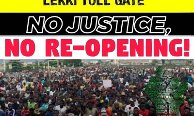 Nigerian youths fixed date to resume protest at Lekki Toll gate police brutality - 20210208 151845 - Police Brutality : Nigerian youths fixed date to resume  protest at Lekki toll gate again